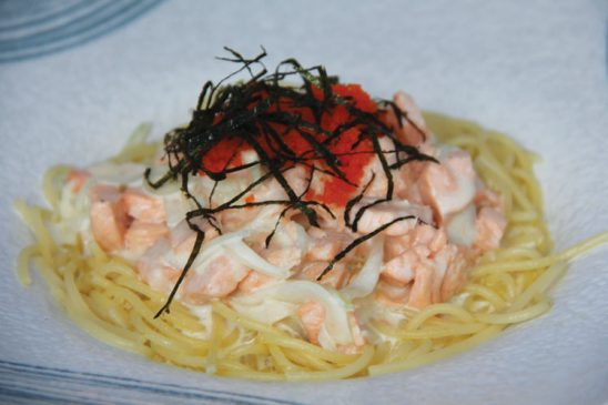 Japanese Creamy Spaghetti